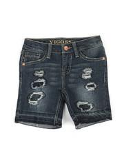 Bottoms - Destructed Released HM Bermuda Shorts (7-16)-2325234