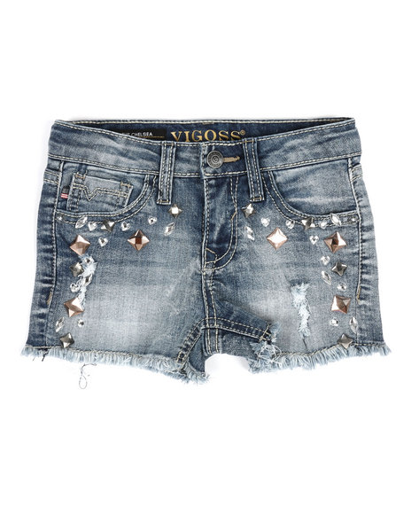 Vigoss Jeans - Big Stone Shorts (4-6X)