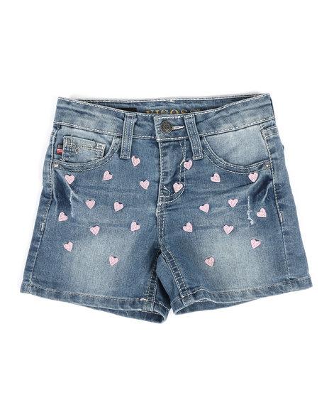 Vigoss Jeans - Petit Heart Shorts (4-6X)