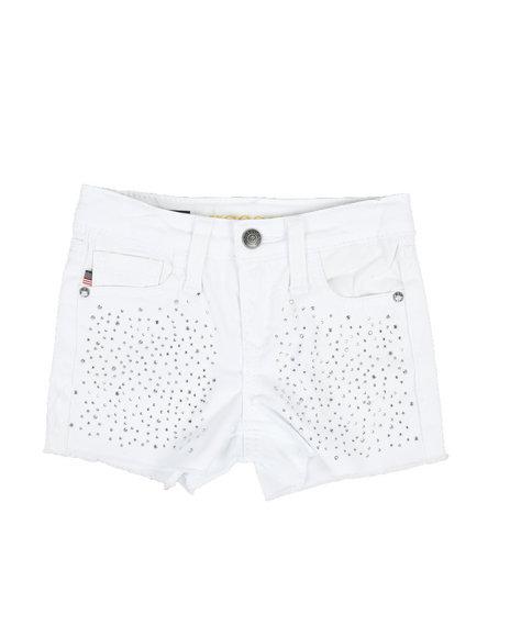 Vigoss Jeans - Snowflake Crystal Shorts (4-6X)