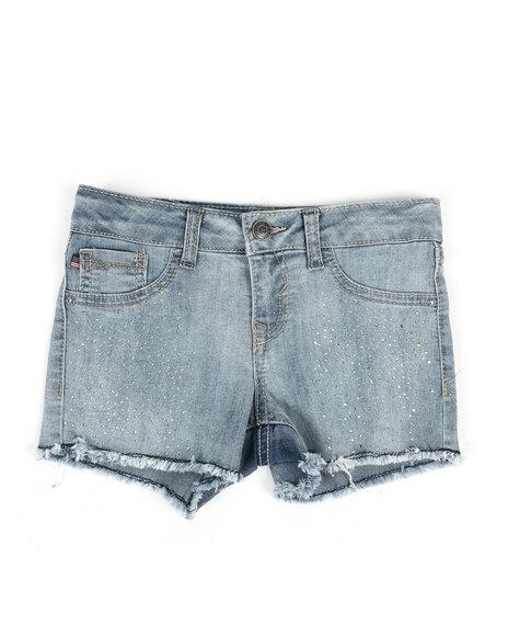Vigoss Jeans - Snowflake Crystal Shorts (7-16)