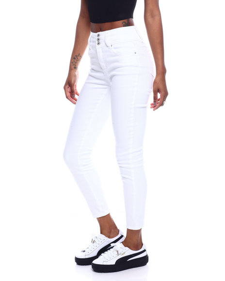 Fashion Lab - 3 Bottom No Handles HI Waist Skinny Jean
