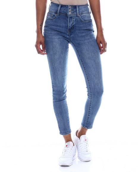 Fashion Lab - 3 Bottom No Handles HI Waist Skinny Jean