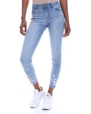 Spring-Summer-W - Distressed 5 Pocket Skinny Jean-2325705
