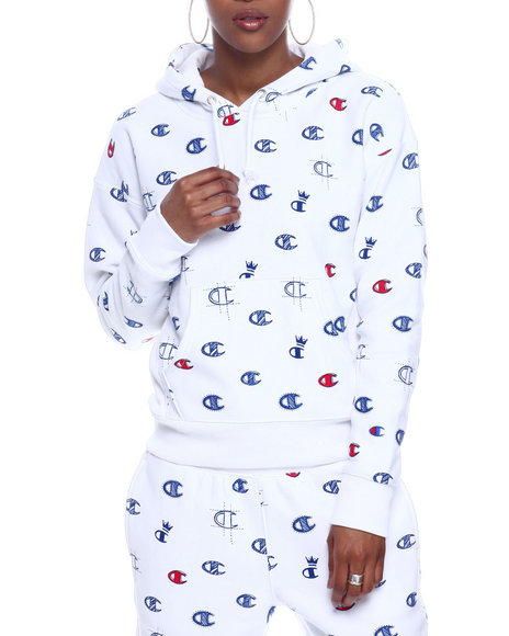 Champion - Rw Pullover Hood-All Over Print
