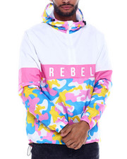 Outerwear - Rebel Colorblock Windbreaker-2325251
