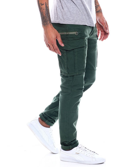 Copper Rivet - 3D Cargo Pocket Twill Pant