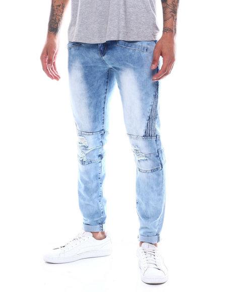 Buyers Picks - Blue Wash Moto Jean