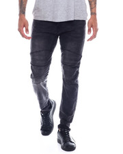 Men - Injected Articulated Knee Moto Jean-2327152