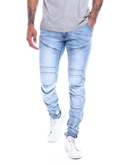 Copper Rivet - 3d Knee jean