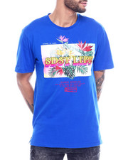 Shirts - TROPICAL FLORAL SS TEE-2327320