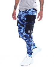 Copper Rivet - 3D Cargo Pocket Camo Pants-2327137