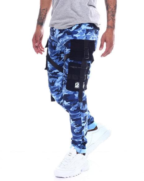 Copper Rivet - 3D Cargo Pocket Camo Pants