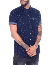 Shirts - PALM SS BUTTONDOWN SHIRT-2327296