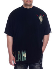 """Big & Tall - """"Master Plan"""" Chenille Patch S/S Tee (B&T)-2326745"""