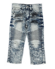 Boys - Stretch Moto Jeans (2T-4T)-2303164