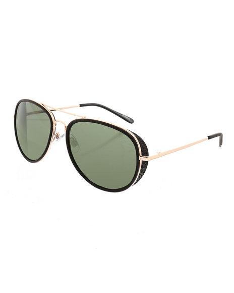 Steve Madden - Aviator W/ Side Rim Sunglasses