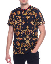 Shirts - LION AND FILIGREE TEE-2328082