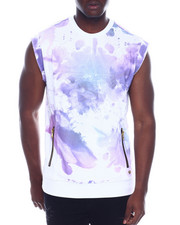 Sweatshirts & Sweaters - Cut off Ink Blot Sweatshirt-2328527