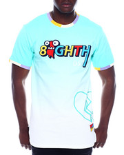 Shirts - SPRAY EFFECT TEE-2328043