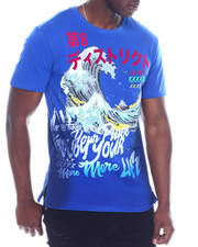 Men - JAPANESE WAVE TEE-2328076