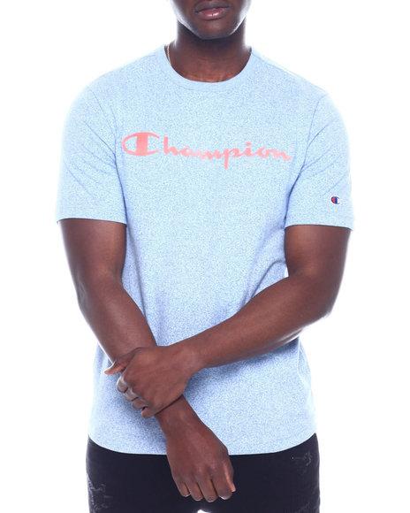 Champion - HERITAGE MOCK TWIST TEE W FELT SCRIPT