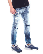Buyers Picks - SPRAY EFFECT JEAN W EMBROIDERY HIT-2328398