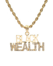 Buyers Picks - Black Wealth Chain Necklace-2326710
