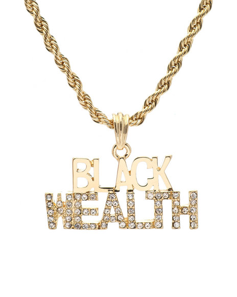 Buyers Picks - Black Wealth Chain Necklace