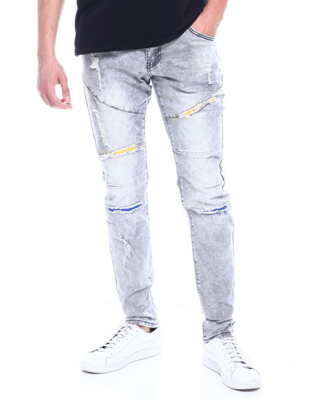 Buyers Picks - COLOR HIT DISTRESSED JEAN
