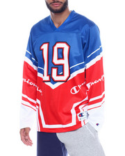 Shirts - CHAMPION SCRIPT HOCKEY JERSEY-2328496