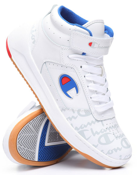 Champion - Super C Court Leather Print Sneakers