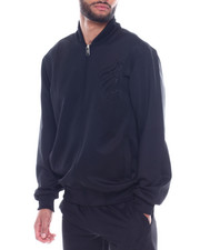 Outerwear - EMBOSSED FLEECE JACKET-2329529