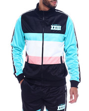 Track Jackets - GREEK KEY TRACK JACKET-2328232