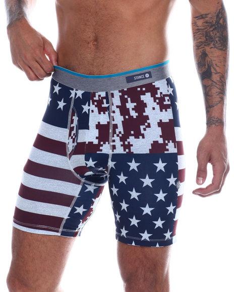 Stance Socks - Digi Camo Flag Boxer Briefs