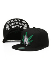 Hats - Praying Hands Snapback Hat-2328638