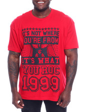 Big & Tall - S/S Where You From Tee (B&T)-2329606