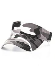 Men - City Camo Print Visor Hat-2328345