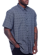 Marc Ecko Collection - S/S Button Woven Shirt (B&T)-2329170