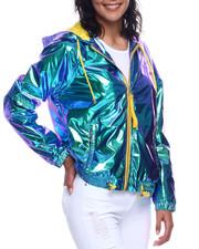 Fashion Lab - Metallic Seld Wind Breaker-2330049