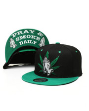 Hats - Praying Hands Snapback Hat-2328685