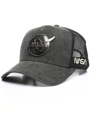 Hats - Metal Head NASA Snapback Hat-2329003