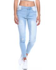 Women - Ripped Stretch Skinny Jean-2329987