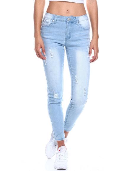 Fashion Lab - Ripped Stretch Skinny Jean