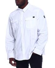 Big & Tall - S/S Button Woven Shirt (B&T)-2329838