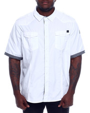 Marc Ecko Collection - S/S Button Woven Shirt (B&T)-2328411