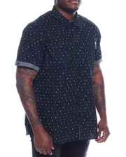 Marc Ecko Collection - S/S Button Woven Shirt (B&T)-2329189