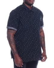 Men - S/S Button Woven Shirt (B&T)-2329189
