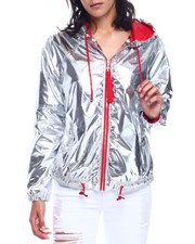 Outerwear - Metallic Seld Wind Breaker-2330054