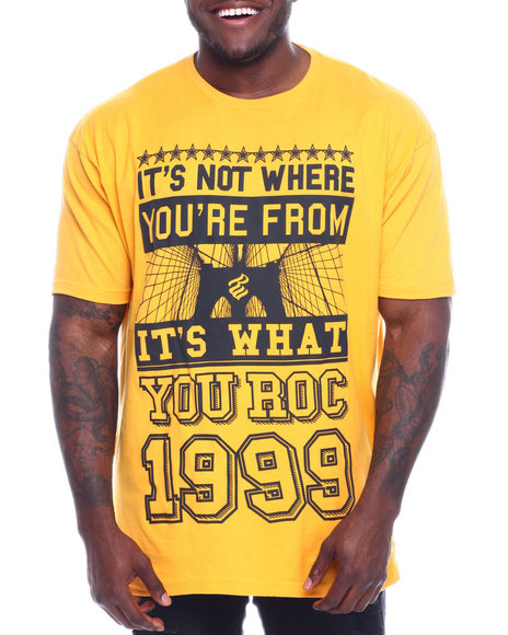Rocawear - S/S Where You From Tee (B&T)